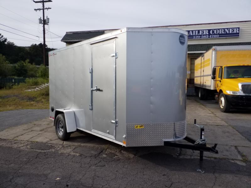 2020 Wells Cargo FT 6X12 DLX RAMP DOOR Enclosed Cargo Trailer
