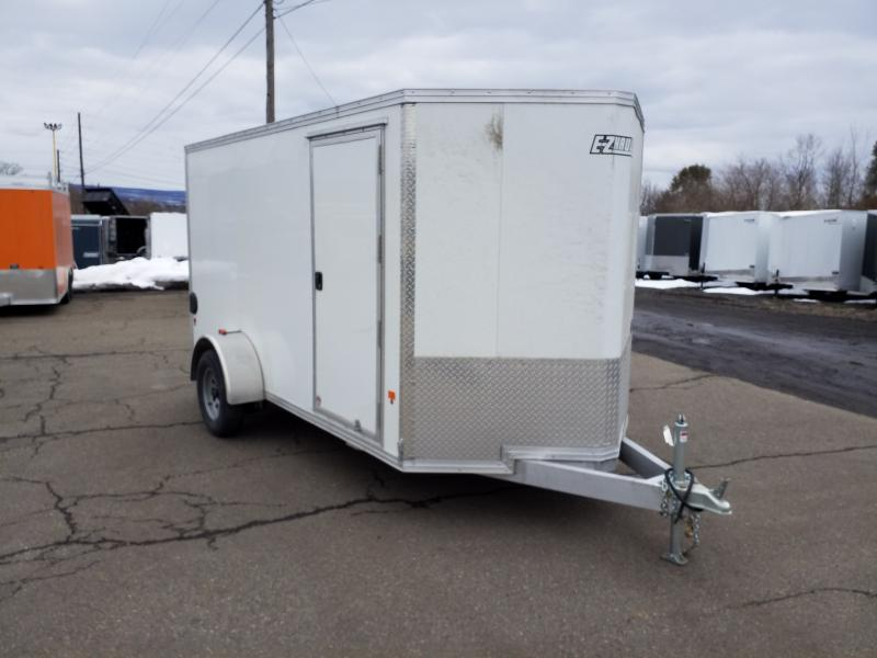 2018 Mission 6X12 ALUMINUM Enclosed Cargo Trailer