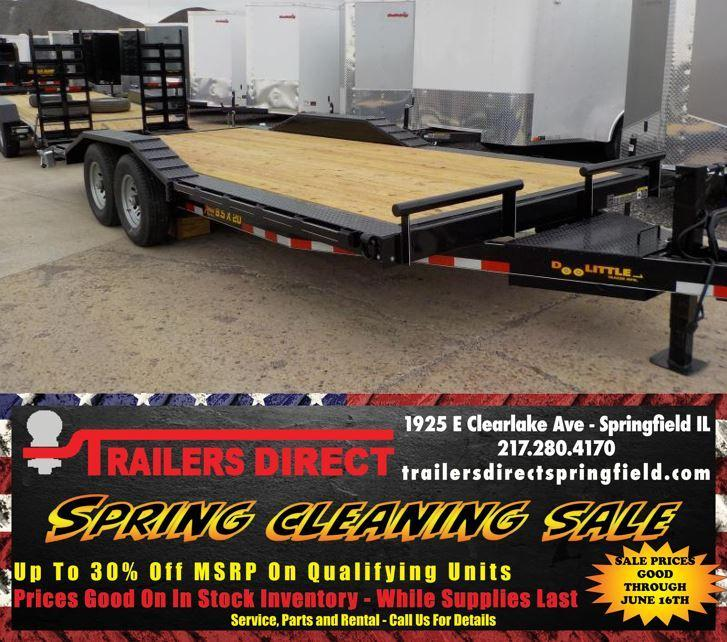 2019 Doolittle Trailer Mfg XTREME Equipment Trailer