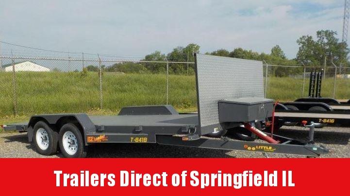 2018 Doolittle Trailer Mfg EZ Loader 84 x 18 7K Equipment Trailer in IL