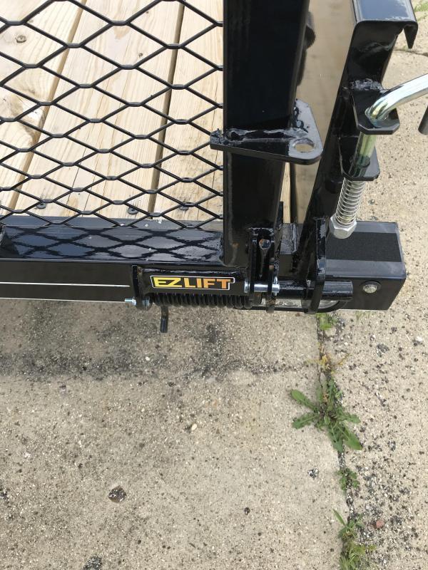 2019 Doolittle Trailer Mfg 77x12 SS T/A Utility Trailer
