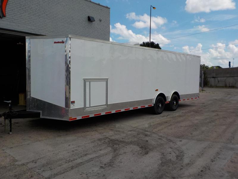 2018 Doolittle Trailer Mfg 8.5x28 Bulldog Race Ready Enclosed Cargo Trailer