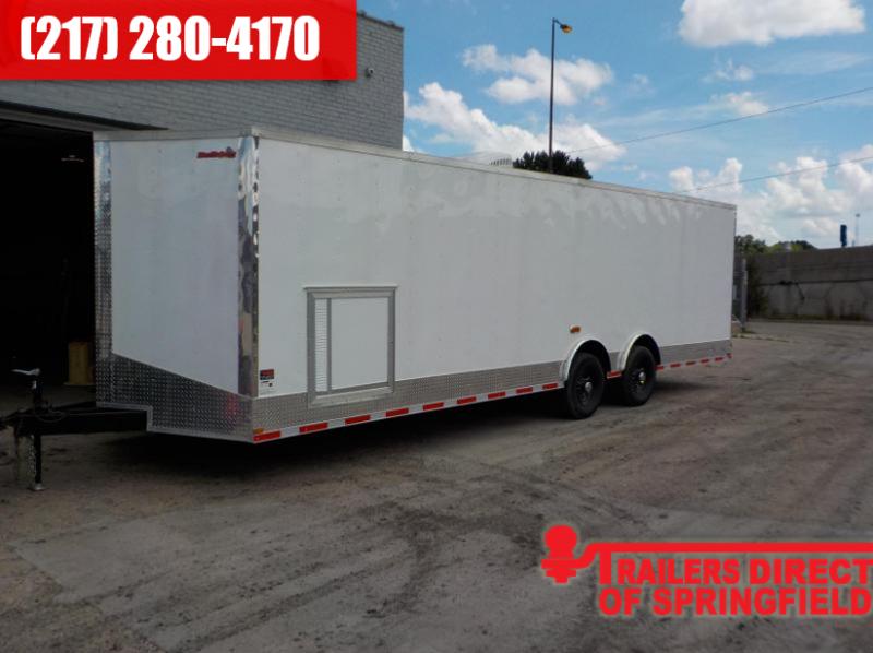 2018 Doolittle Trailer Mfg 8.5x28 Bulldog Race Ready Enclosed Cargo Trailer in Ashburn, VA