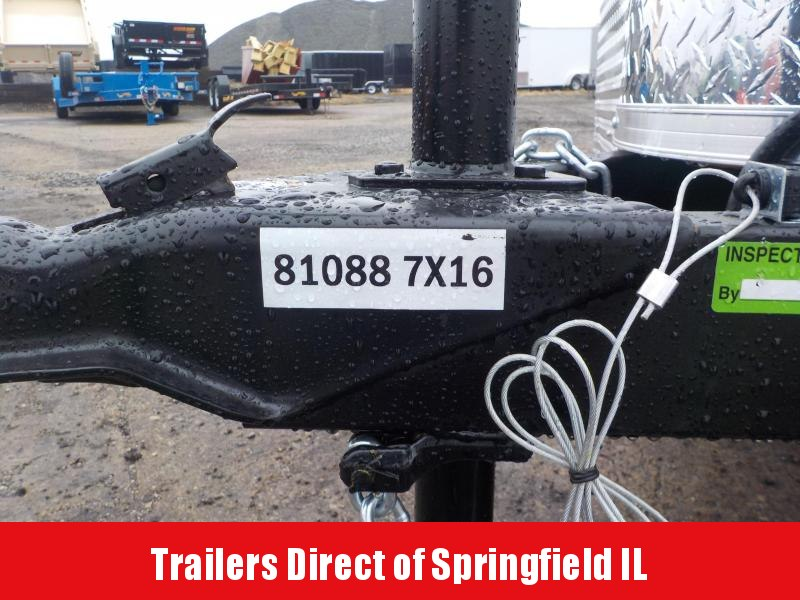2019 Doolittle Trailer Mfg 7X16 Cargo Enclosed Cargo Trailer