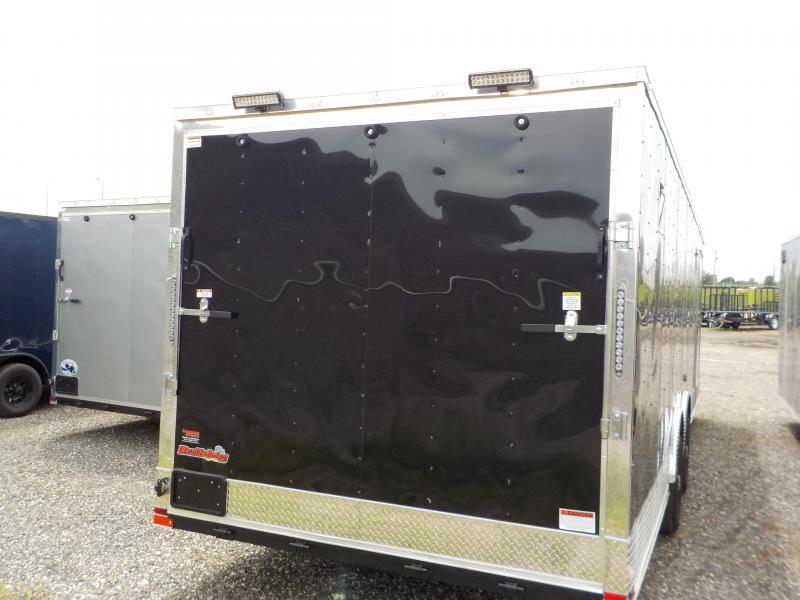 2018 Doolittle Trailer Mfg Bulldog 8.5x28 Enclosed Cargo Trailer
