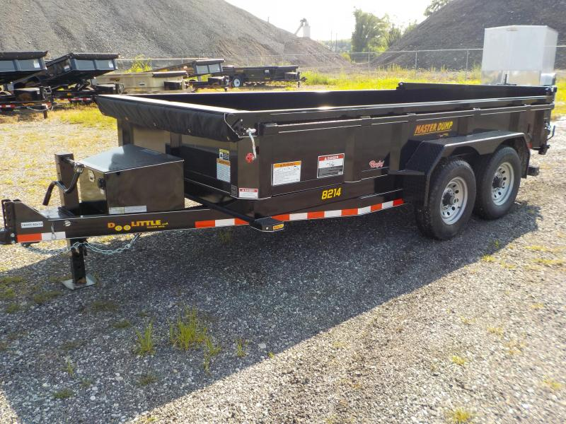 2019 Doolittle Trailer Mfg 82x14 Master Dump Trailer in Bloomsdale, MO