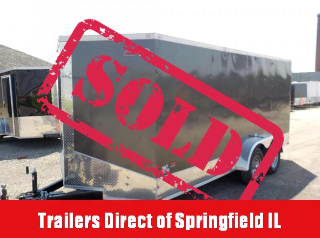 2019 Doolittle Trailer Mfg 7x16 Bulldog Enclosed Cargo Trailer in Ashburn, VA