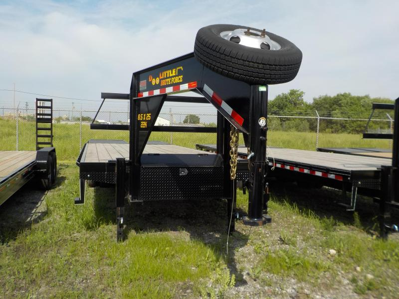 2017 Doolittle Trailer Mfg Brute Force 102x25 22K Heavy Duty Flip-Over Ramps
