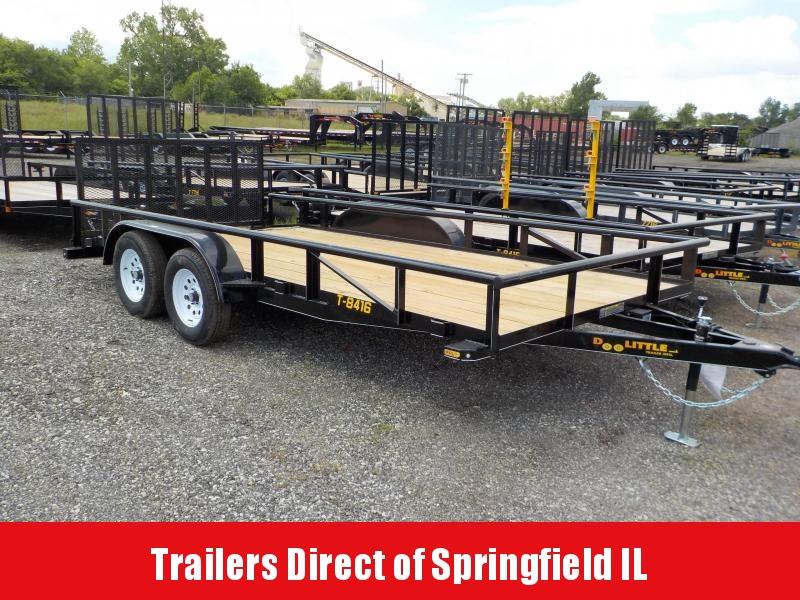 2018 Doolittle Trailer Mfg 84x16 Utility Trailer 7K in Ashburn, VA