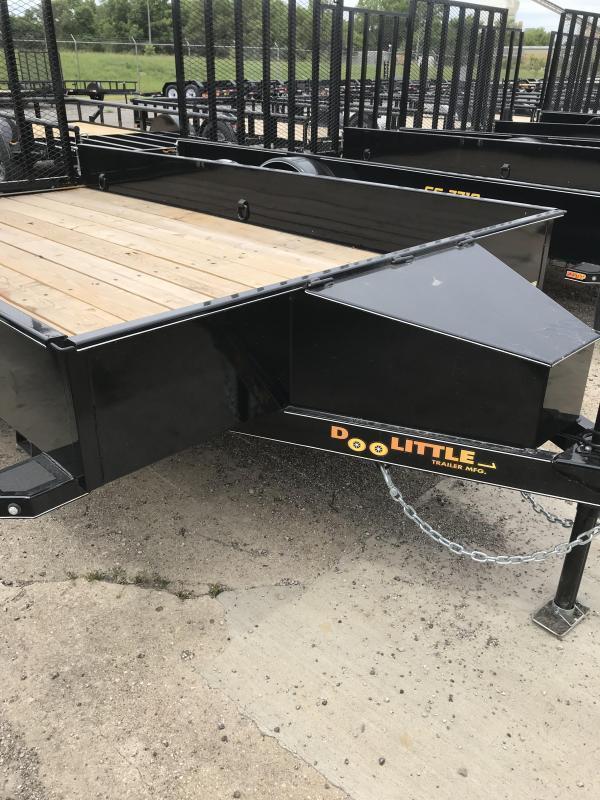 2019 Doolittle Trailer Mfg SS Series 77x12 Utility Trailer