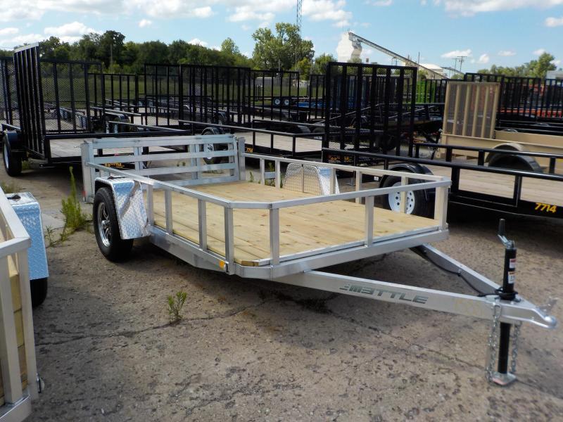 2018 MVM7 6.5x12 Aluminum Utility Trailer in Ashburn, VA