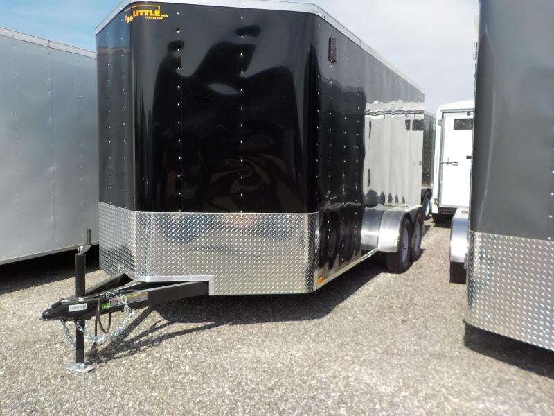 2018 Doolittle Trailer Mfg Bullitt 7x16 T/A 7K