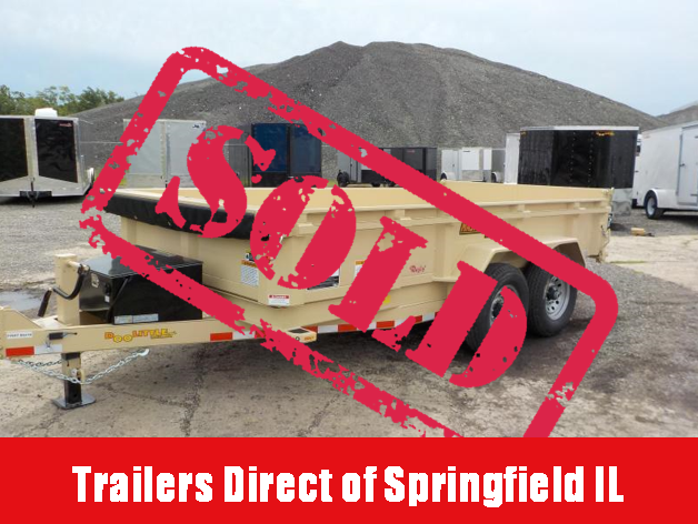 2018 Doolittle Trailer Mfg 82x14 MasterDump Scissor 14K Dump Trailer
