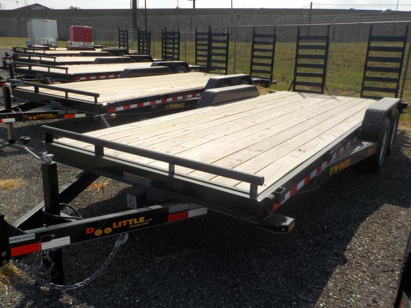 2017 Doolittle Trailer Mfg Xtreme 84 x 20 10K