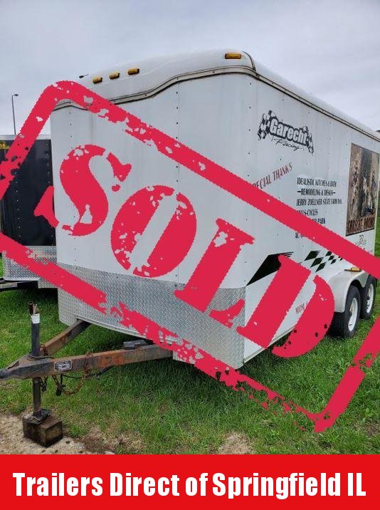 2004 Haulmark Kodiak 7x14 Enclosed Cargo Trailer