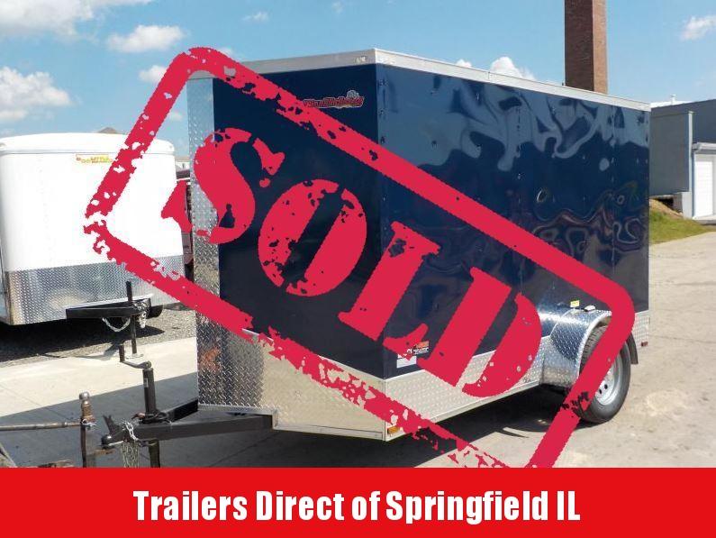 2018 Doolittle Trailer Mfg 6x10 Bulldog Enclosed Cargo Trailer in Ashburn, VA