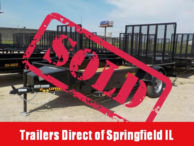 2018 Doolittle Trailer Mfg 77x12 SS Series Single Axle in Ashburn, VA