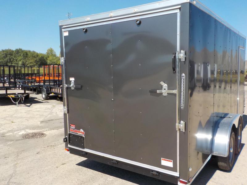 2019 Doolittle Trailer Mfg Bulldog Cargo 7x16 Enclosed Cargo Trailer