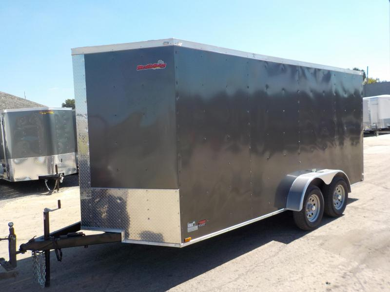 2019 Doolittle Trailer Mfg Bulldog Cargo 7x16 Enclosed Cargo Trailer