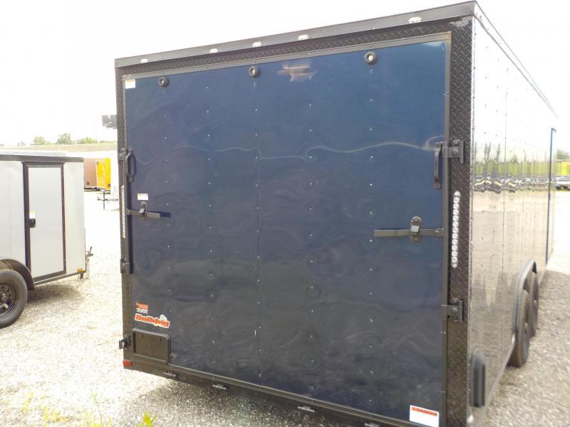 2018 Doolittle Trailer Mfg Bulldog 8.5x24 Enclosed Cargo Trailer