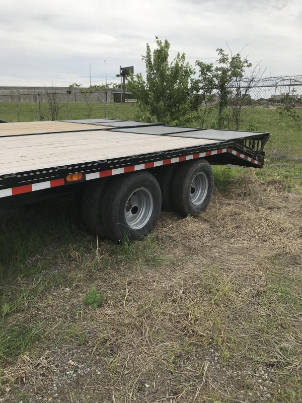 2019 Doolittle Trailer Mfg 102x25  Brute Force Tandem Axle 22K Equipment Trailer