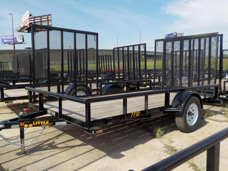 2017 Doolittle Trailer Mfg 77 x 12 Single Axle 3K Utility Trailer in Ashburn, VA