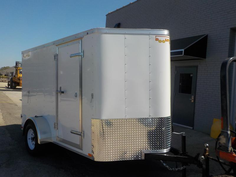 2019 Doolittle Trailer Mfg Bullitt 6x10 Single Axle 3K Enclosed Cargo Trailer