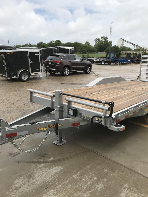 2019 Doolittle Trailer Mfg Xtreme 102x20 14K Equipment Trailer