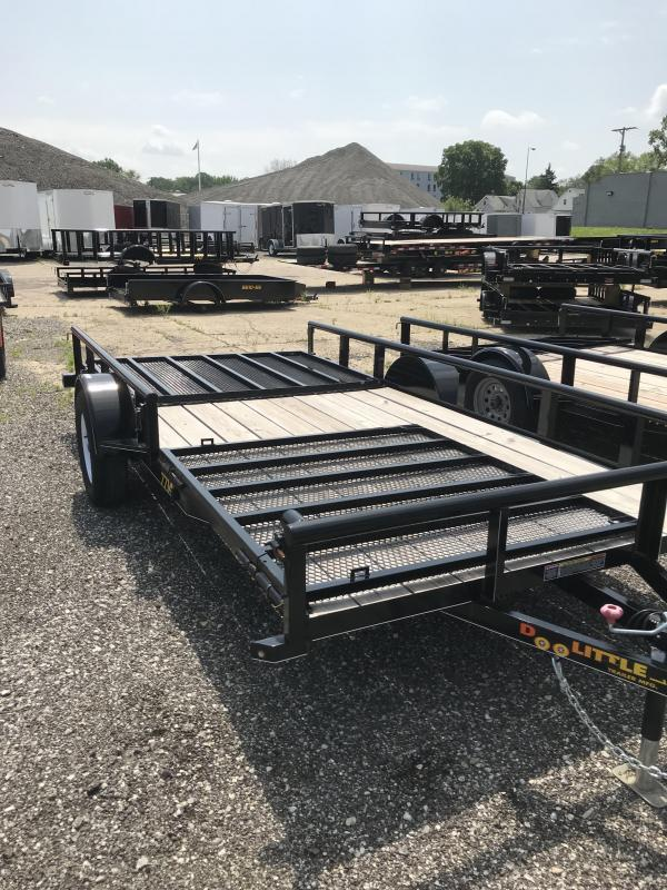 2018 Doolittle Trailer Mfg 77x14 Utility