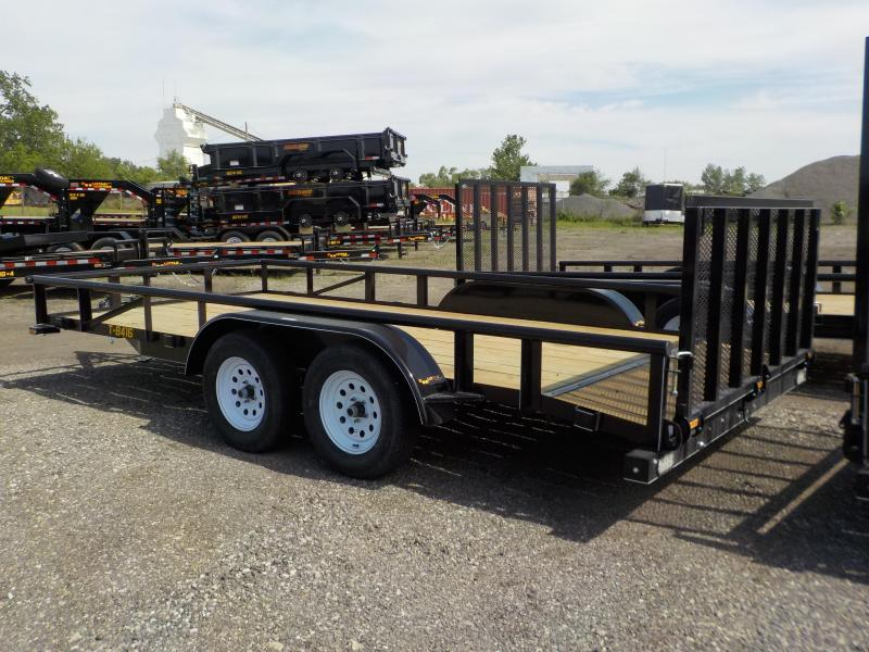 2018 Doolittle Trailer Mfg 840 Series 84x16 7K Utility Trailer