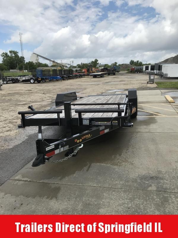 2019 Doolittle Trailer Mfg 82x20 EZ Loader GT 10K Equipment Trailer