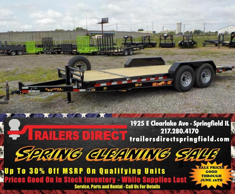 Red Tag Sale!!! 2019 Doolittle Trailer Mfg 82x20 EZ Loader GT 10K Equipment Trailer