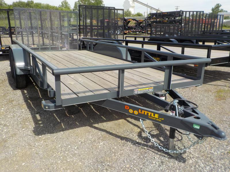 2017 Doolittle Trailer Mfg 77x16 7K Utility