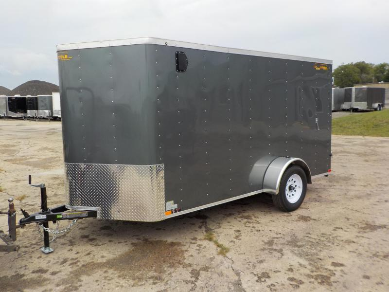2019 Doolittle Trailer Mfg Bullitt 6x12 S/A 3K Enclosed Cargo Trailer