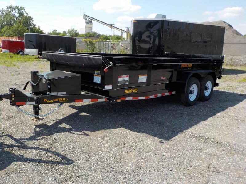 2018 Doolittle Trailer Mfg 82x16 MasterDump 14K Dump Trailer in Bloomsdale, MO