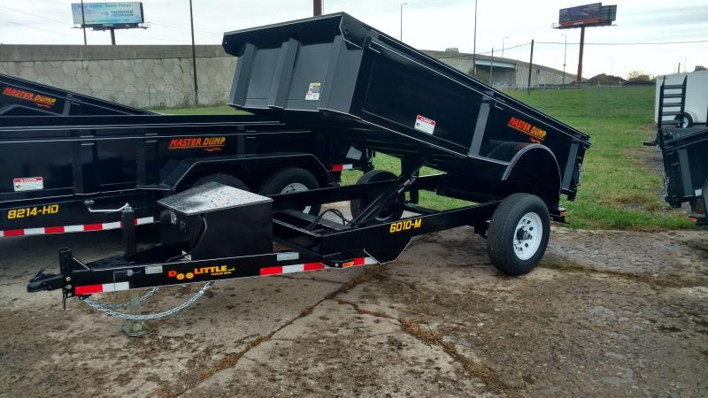 "Doolittle Trailer Mfg Masterdump 60"" x 10 Single Axle 5K"
