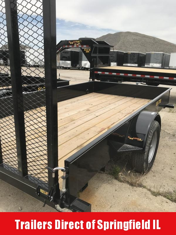2019 Doolittle Trailer Mfg SS Series 77x12 Utility Trailer