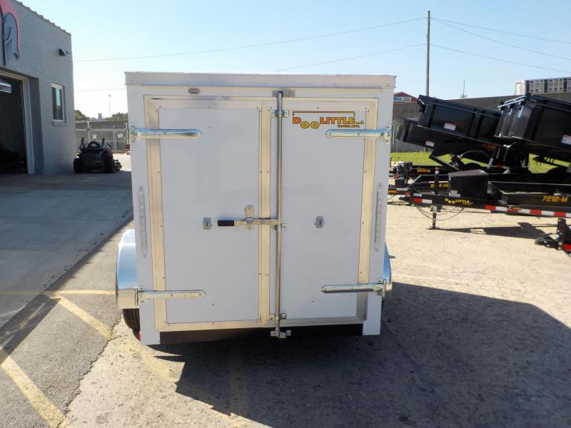 2019 Doolittle Trailer Mfg Bullitt 5 Wide Single Axle Enclosed Cargo Trailer
