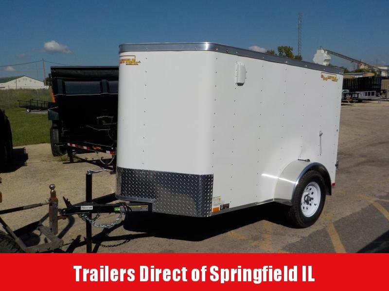 2019 Doolittle Trailer Mfg Bullitt 5 Wide Single Axle Enclosed Cargo Trailer