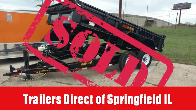 "Doolittle Trailer Mfg Masterdump 8200 Series 82"" x 14 Tandem Axle 14K Gas in Ashburn, VA"