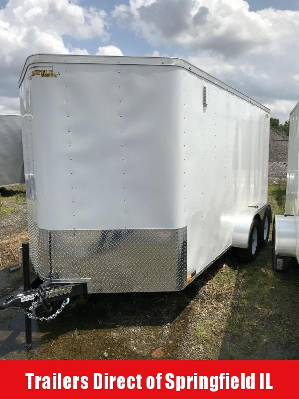 2019 Doolittle Trailer Mfg Doolittle Bullitt Enclosed Cargo Trailer Tandem Axle