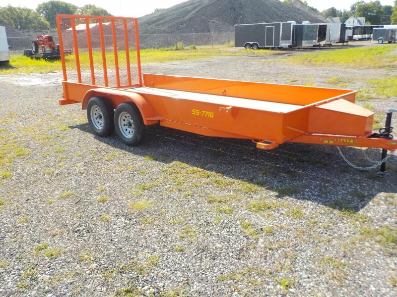 2019 Doolittle Trailer Mfg 77x16 SS Series Utility Trailer