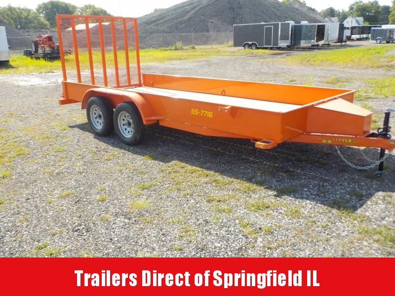 2019 Doolittle Trailer Mfg 77x16 SS Series Utility Trailer in Ashburn, VA