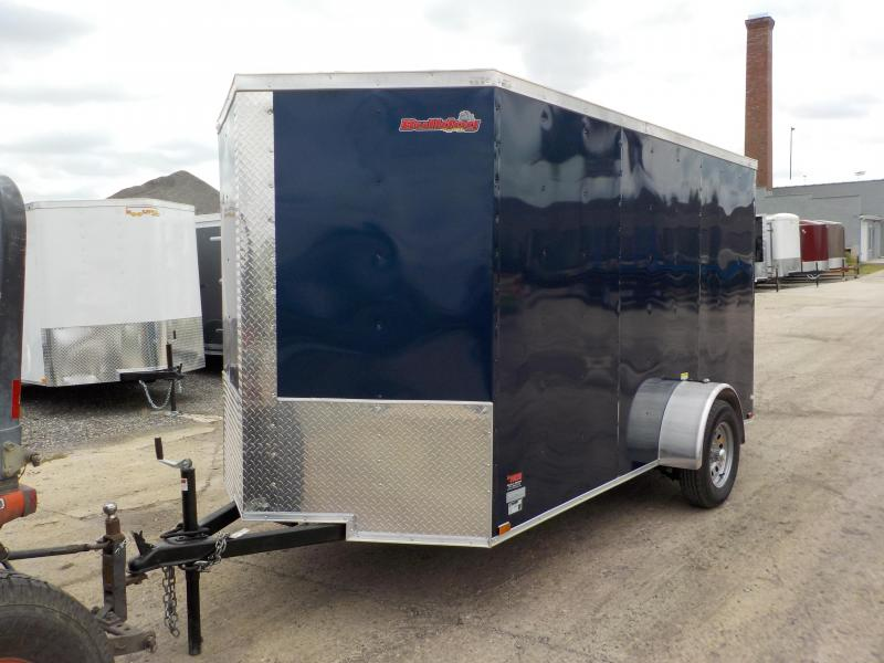 2018 Doolittle Trailer Mfg 6x12 Bulldog Enclosed Cargo Trailer