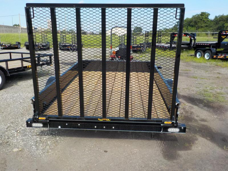 2018 Doolittle Trailer Mfg 77x10 SS Series Utility Trailer