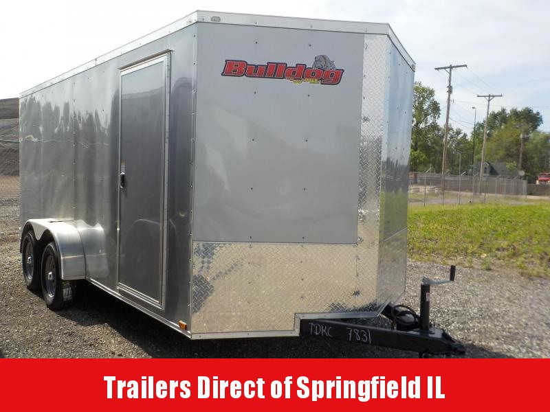 2018 Doolittle Trailer Mfg Bulldog Cargo 7x16 T/A 7K in Ashburn, VA