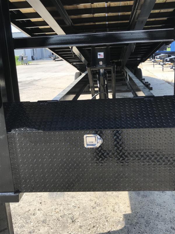 2019 Doolittle Trailer Mfg Full Tilt 102x40 EZ Loader 24K Equipment Trailer
