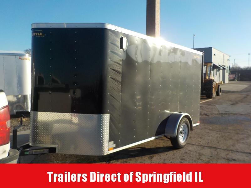 2019 Doolittle Trailer Mfg 6x12 S/A Black Enclosed Cargo Trailer