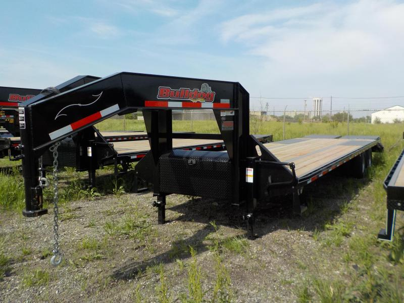 2018 Doolittle Trailer Mfg 102x32 Bulldog Deckover XL Equipment Trailer