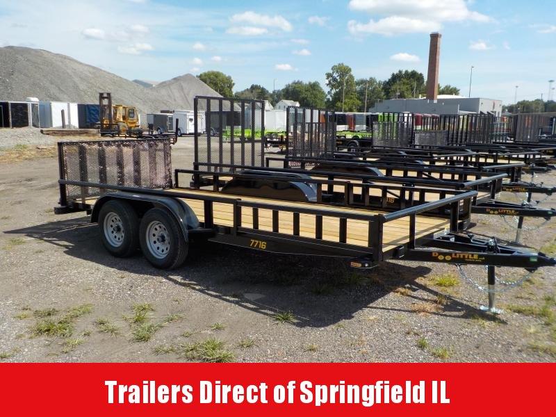 2019 Doolittle Trailer Mfg 77x16 7K Utility Trailer in Ashburn, VA